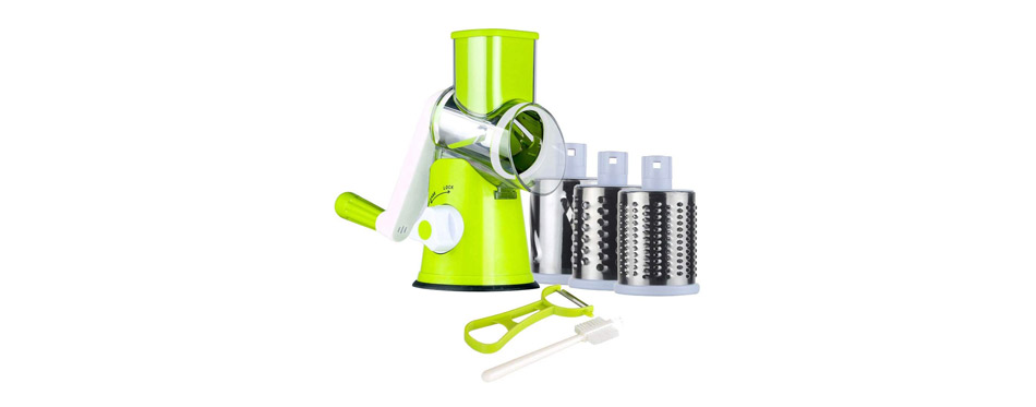 Ourokhome Manual Cheese Rotary Grater