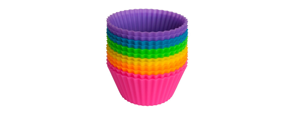 Pantry Elements Silicone Cupcake Liners Baking Cups