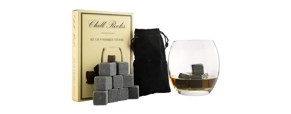 Quiseen Set of 9 Whiskey Stones