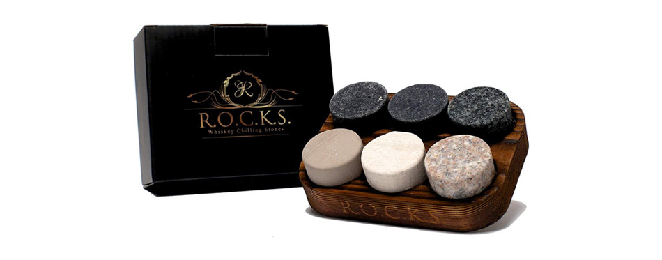 Rocks Whiskey Chilling Stones