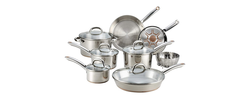 T-fal Ultimate Stainless Steel Cookware Set