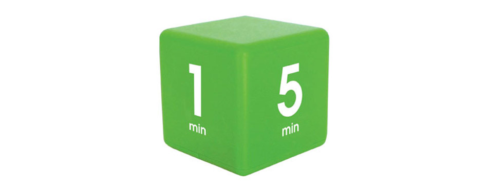 The Miracle TimeCube Kitchen Timer