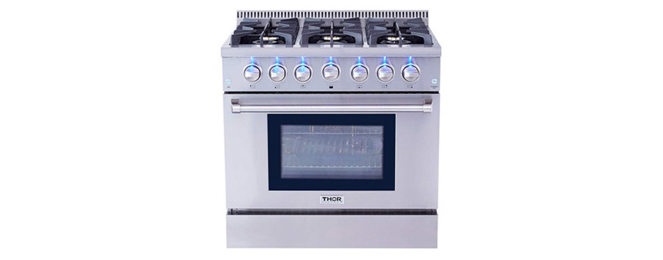 Thor Kitchen HRG3618U Stoves Gas Range