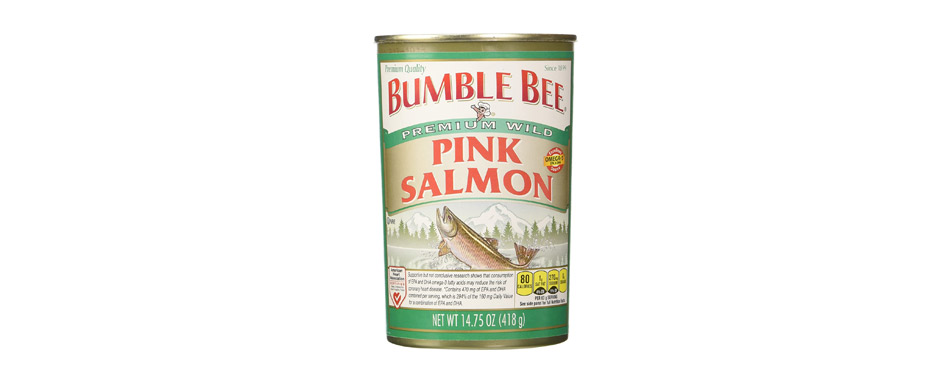 Bumble Bee Salmon Pink Canned