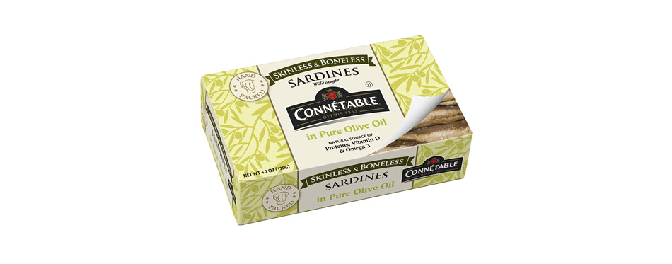 Connetable Skinless and Boneless Sardines