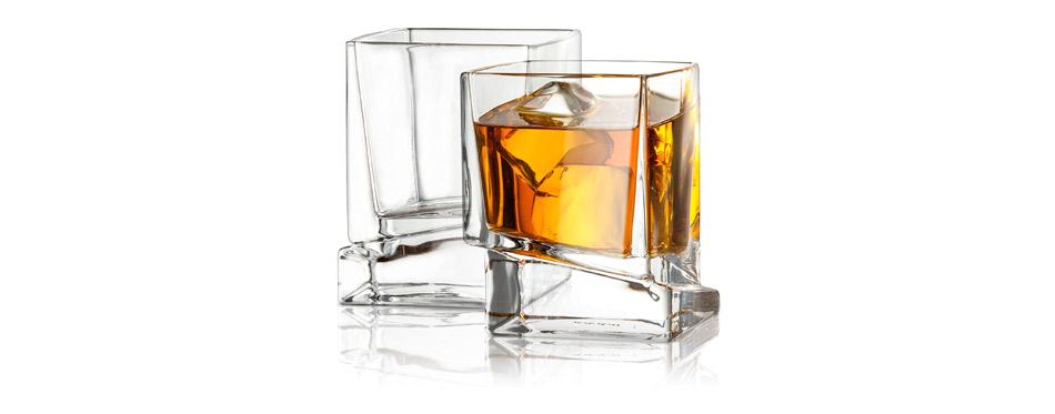 JoyJolt Carre Square Glasses