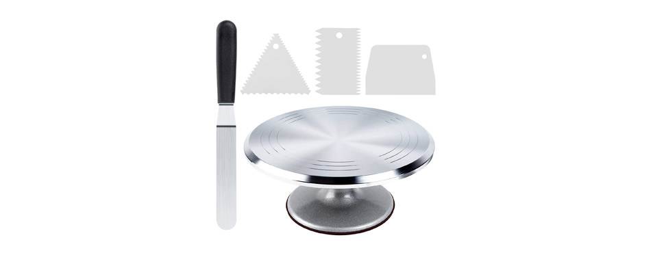 Ohuhu Cake Stand Turntable