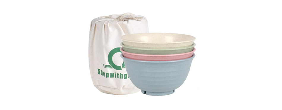 Shopwithgreen Unbreakable Large Cereal Bowls