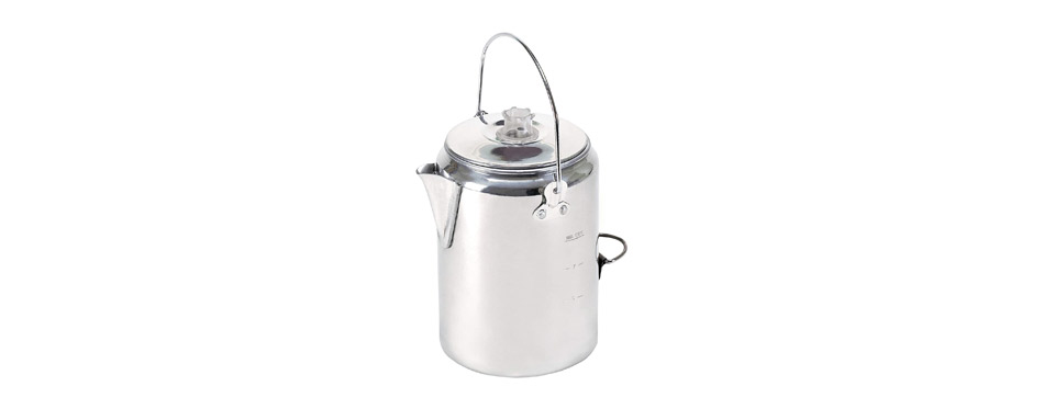 Stansport Aluminum Percolator Coffee Pot