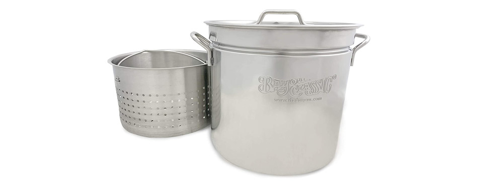 Bayou Classic Stainless Stockpot