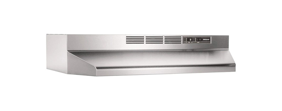 Broan-NuTone Ductless Range Hood Insert with Light