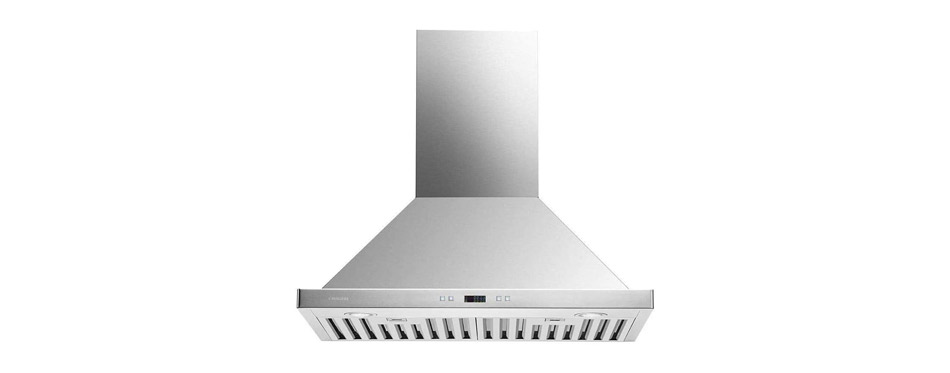 Cavaliere Range Hood Wall Mounted Brushed