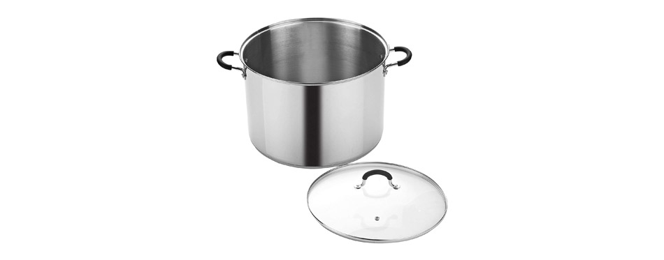 Cook N Home Stainless Steel Cooking Pot