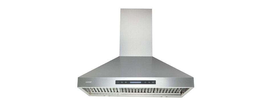 Ekon Wall Mount Range Hood Stainless Steel