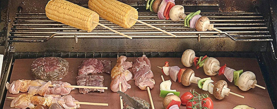 Grill Mats and Meat