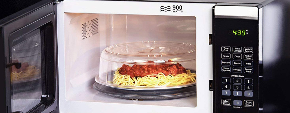Lunch at microwave