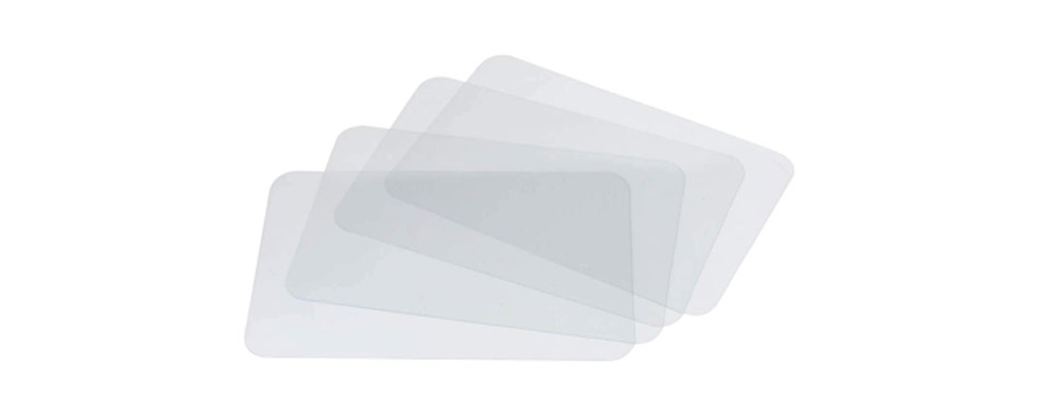 Miles Kimball Clear Placemat Set