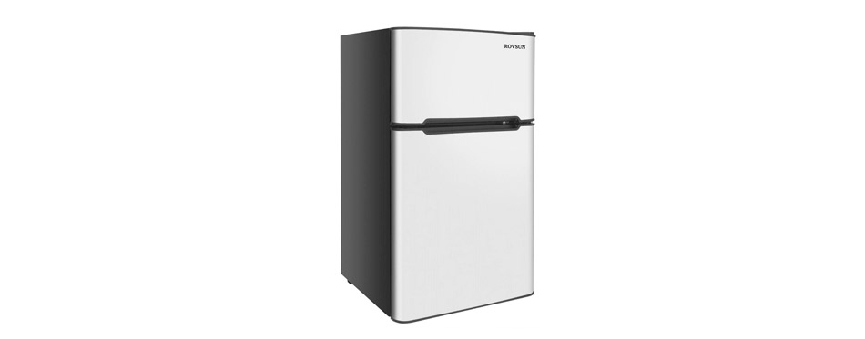 ROVSUN Compact Refrigerator with Freezer