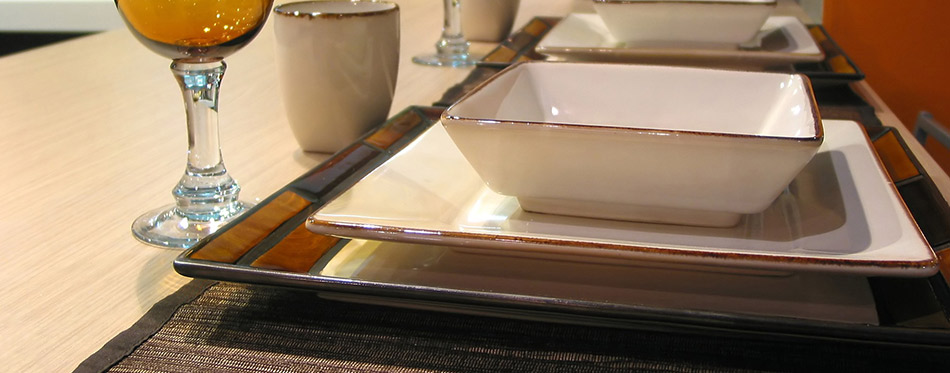 Table setting with Placemats