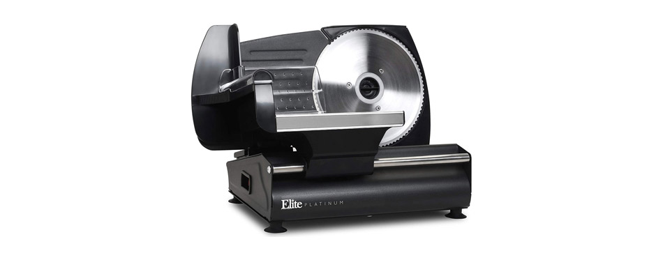 Maxi Matic Elite Platinum Meat Slicer