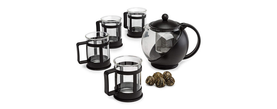 Primula Teapot with Removable Infuser Cups