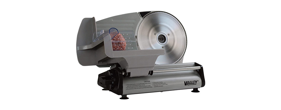 Valley Sportsman Stainless Steel Electric Meat Slicer